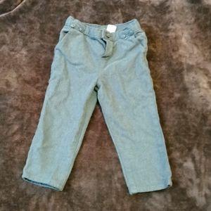 Cotton b'gosh pants size 2 T